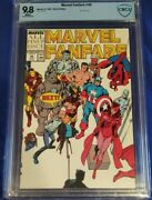 Marvel Fanfare 45 Cbcs 9.8 All Pin-up Issue White Pages Not Cgc