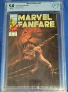 Marvel Fanfare 58 Cbcs 9.8 Shanna Cover Scarlet Witch Story White Pages Not Cgc