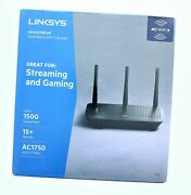 Linksys Max Stream Dual Band Wifi 5 Router Ac1750