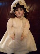 Antique Simon And Halbig Bisque Head German Doll 1079 22