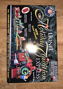 The Lionel Holiday Tradition Express Around The Tree G-gauge Train Set Ready Go