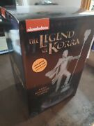 Avatar Legend Of Korra Aang Memorial Statue Nycc First Edition Sealed