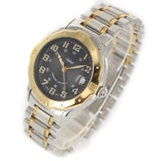 Tabbah Personal Automatic Gp Black Dial Stainless Men's Watch From Japan [b0320]