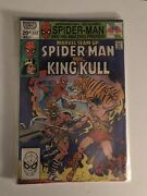 Marvel Team Up 112 Cgc 9.6 Amazing Spiderman And King Kull From Conan White Pgs