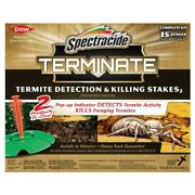 Terminate Termite Detection Killing Stakes 15 Count Install In Ground Home House