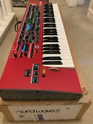 Nord Wave 2 Andnbsp61 Key Performance Synthesizer In Excellent Condition