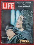 April 19 1968 Life Magazine Martin Luther King Funeral Americas Grief - Very Gd