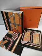 Unused Rare Hermes 10 Notebooks Puzzle Horse Scarf Print Vip Gift
