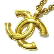 Auth Gold Hardware Necklace