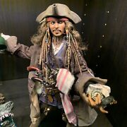 Hot Toys Dx15 Pirates Of Caribbean Dead Men Tell No Tales Jack Sparrow Open New
