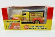 Ertl Federated Auto Parts 1/25 Scale 1947 Dodge Canopy Delivery Diecast 2000