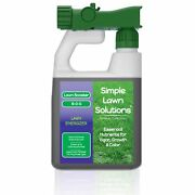 Commercial Grade Lawn Energizer- Grass Micronutrient Booster With Iron And Nitr...