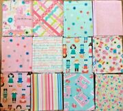 Sew Kind By Stitches By Charlotte- 12 Pc Fat Quarter Pack
