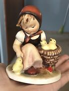 Early Vintage Hummel Chick Girl Full Bee 57/0