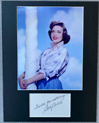 Betty White Signed Autograph Photo Display - Golden Girls, Mary Tyler Moore Show