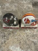 Nfl Riddell Throwback Tampa Bay Buccaneers 1976-1996 Football Mini Helmet Lot