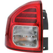 Taillight For Audi A4 09-12 Driver Side Oe Replacement Halogen With Bulbs