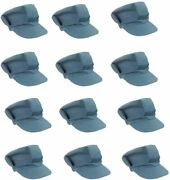 Funny Party Hats Train Engineer Hats - Train Conductor Costume - 12 Pack Train
