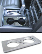 H2 And H2 Sut Smooth Chrome Billet Cup Holder Insert