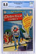 Detective Comics 163 Cgc 8.0, Very Tough In This Great, Great Cover