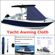 600d T-top Boat Bow Sun Shadow Top Mount On Tower Yacht Awning Cloth Bow Awning