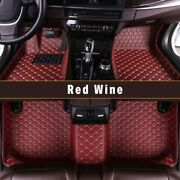 For Bmw 3 Series Gt F34 320i 330i 340i 328i 335i 11-19 Car Floor Mats,wine Red