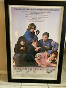 Authentic Breakfast Club Movie Poster With All 5 Autographs