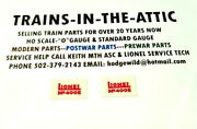 Lionel 400e Number Boards 2ea Boards W/ Protective Clear Plastic On Front And Back