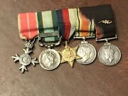 British Army Group Of Miniature Medals