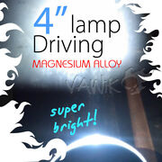 Vawik 4 Led Round Driving Light Magnesium Alloy Super Bright Rally Xpair