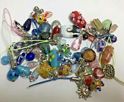 Lot Glass Beads Lampwork Crafts Jewelry Making Crafts - Wine Markers