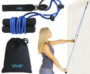 Vive Shoulder Pulley - Over Door Rehab Exerciser For Rotator Cuff Recovery