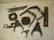 1948 Ford 8n Tractor 4 Speed Transmission Shift Forks Shafts Parts Etc.