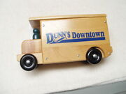 Vintage Holgate Toy Wooden Delivery Service Truck Dunn's Downtown