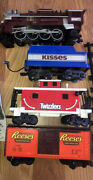 Train Lionel Hershey's Chocolate Locomotive Cars Only Parts Resses Twizzlers