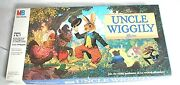 The Uncle Wiggly Board Game1988 Vintage Milton Bradley Boys And Girls Complete
