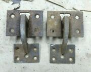 1923 1924 1925 Model T Ford Coupe Trunk Lid Hinges Original Pair