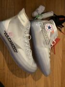 Off-white X Converse Chuck Taylor All Star Vulcanized Size 7.5 Nwob