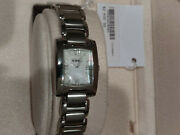 Ebel Womens Brasilia Watch Mother Of Pearl Stainless Silver Tone