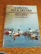 Carving Duck Decoys With Full-size Templates For Hollow Constr. - Harry Shourds