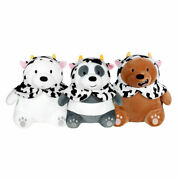 [we Bare Bears] Cow Caped Stuffed Doll 9.8 25cm - 3 Characters