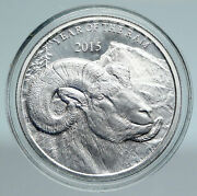 2015 Year Of The Goat Chinese Zodiac Horoscope Lucky Fine Silver Medal I89449