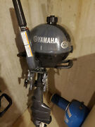 Yamaha 2.5 Hp Outboard. Long Shaft On The Outboard.andnbsp Only 1 Year Old.