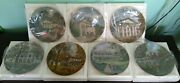 Gorham Southern Landmark Collection Series Collector Plates Set Of 14
