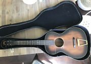 Vintage Federated Teachers Service Corp. By Regal Parlor Guitar 37andrdquo W/ Case