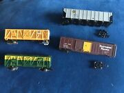 N Scale Train Lot Boxcars Rolling Cars Parts Atlas Bachman Life Like