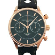 Frederique Constant Vintage Rally Healy Fc-397hdg5b4 Limited Gp At Green [e0325]