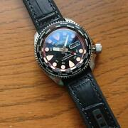 Seiko Diver Modified Navy Boy Nh36a Automatic Mens Watch Authentic Working