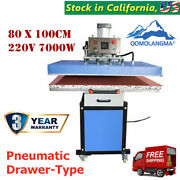 7000w 31x39in Pneumatic Drawer-type Large Format Sublimation Heat Press Machine