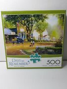 Buffalo Games Jigsaw Puzzle Days To Remember Boys Of Summer 500 Pieces New